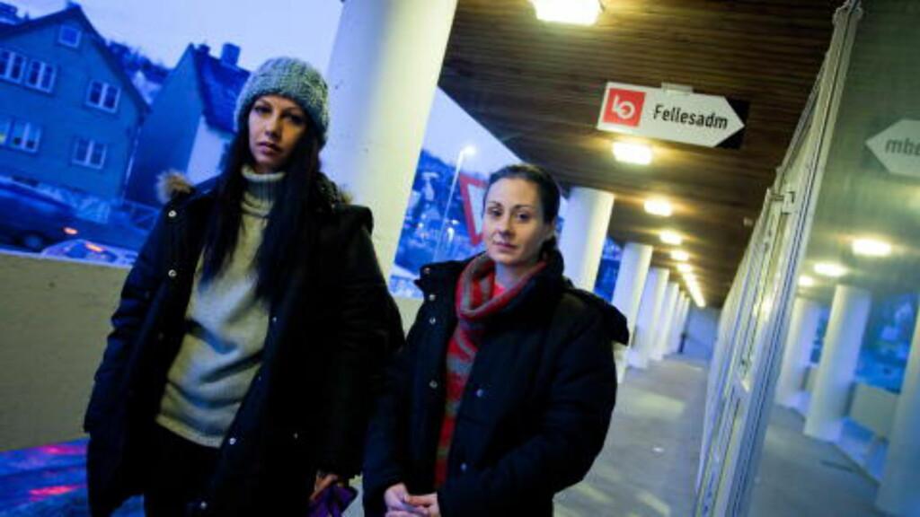 DRO MED VENNINNA: Eleni Kazaki dro til Norge sammen med venninna Anna Chrysanthaki (38) i januar 2011 for å skaffe seg jobb. De kom i kontakt med renholdsselskapet Toma gjennom en bekjent, hvor de fikk muntlig beskjed om full stilling og fast jobb. Foto: MARIUS FISKUM/DAGBLADET