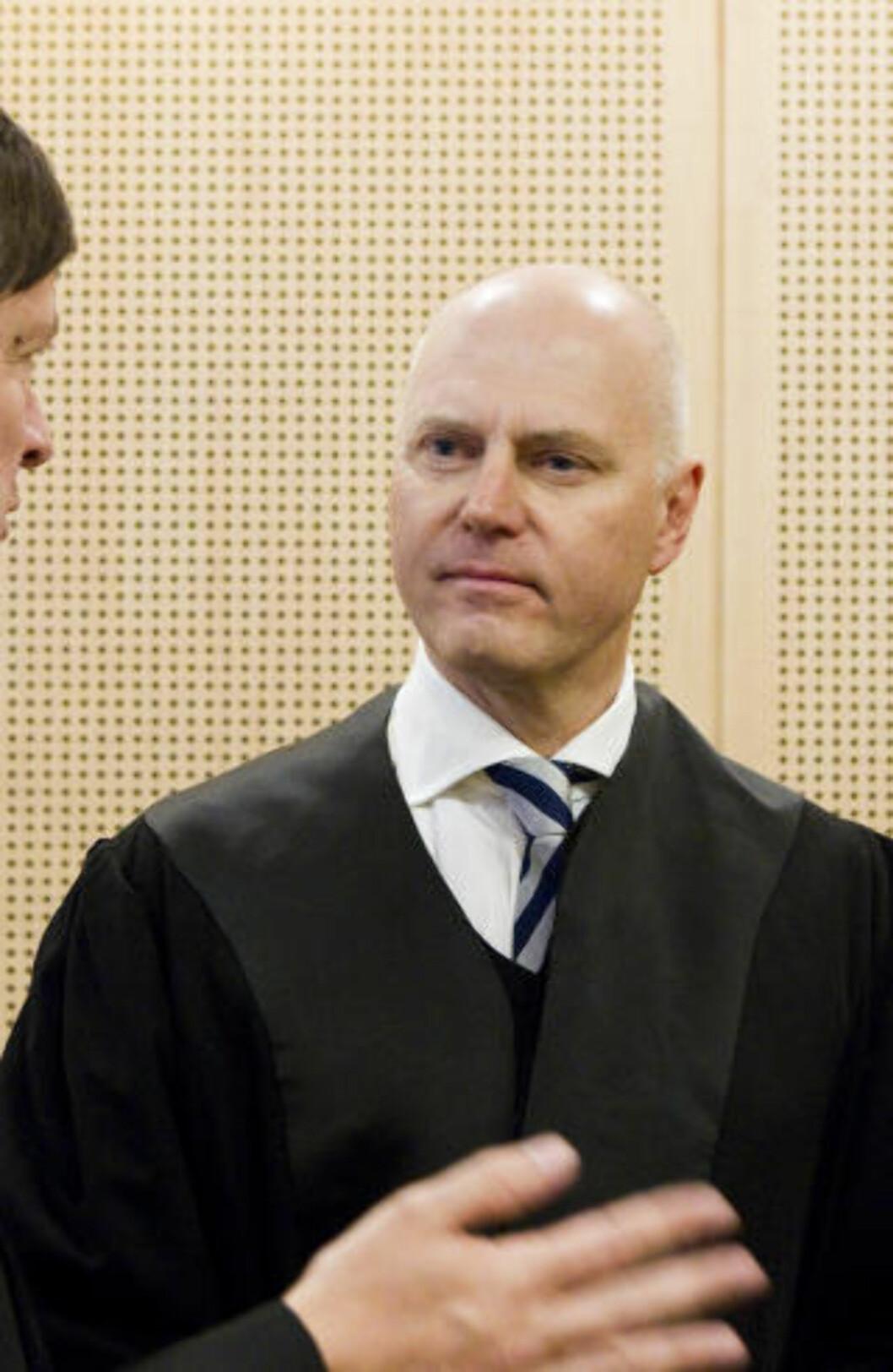 <strong>PRINSIPIELT VIKTIG:</strong> Advokat Anders Ryssdal fra advokatfirmaet Wiersholm prosederer saken sammen med Klomsæt. Han mener saken er svært prinsipielt viktig. Foto: Berit Roald / Scanpix