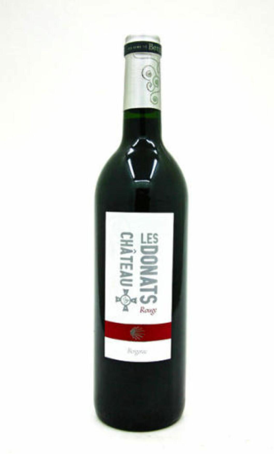 <strong>FRANSK SEKSER:</strong> Château les Donats fra Bergerac koster 104,90 og er en herlig vin til vårens lam.