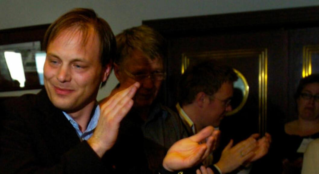 <strong>VIL HA OMKAMP:</strong> Torsdag gikk også Gunhild Johansen, SVs gruppeleder i Tromsø, og tidligere statssekretær Pål Julius Skogholt (bildet) ut mot SV-ledelsens støtte til Lysbakken.  Foto: KJELL INGE SØREIDE/SCANPIX