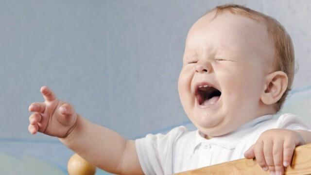c3bc5a6c BABY MED LAKENSKREKK: Lite er mer slitsomt for foreldrene enn små barn som ikke  får