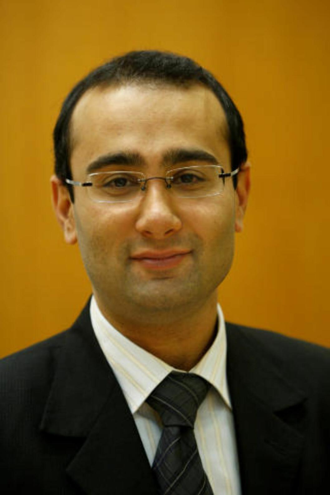 <strong>GLAD FOR LØSNING:</strong> Advokat Amir Mirmotahari. Foto: Erlend Aas / SCANPIX