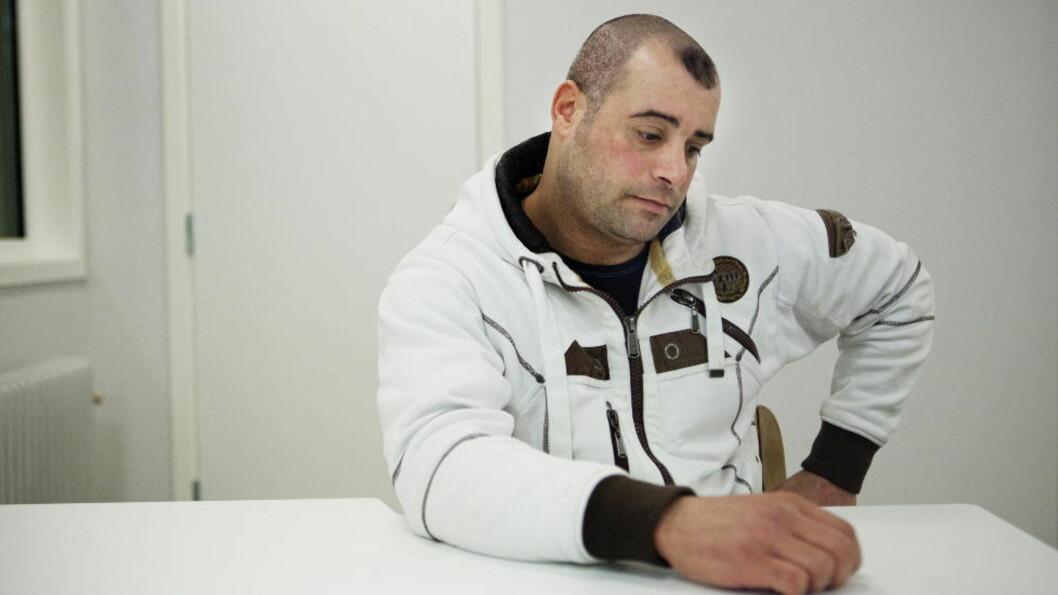 <strong>FÅR REISE SAMMEN MED FAMILIEN:</strong> Mohammed Ahmed Salem. Foto: Jo Straube / Dagbladet