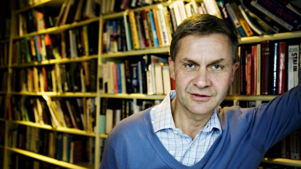 <strong>KASTES UT:</strong> Miljø- og utviklingsminister Erik Solheim skal ut av regjering. Foto: NINA HANSEN , Dagbladet.