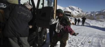 Snøskred drepte minst 22 personer i Afghanistan