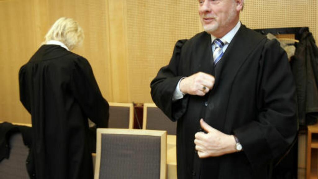 - FORBEREDT PÅ OPPMERKSOMHET:   Advokat Sigmund Øien skal forsvare Marie Madeleine Larsen i Oslo tingrett i juni. Arkivfoto: Lise Åserud, NTB SCANPIX .