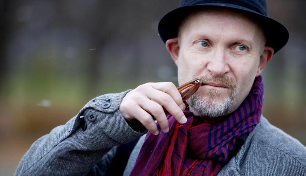 MORSOM: Lars Saabye Christensens nyeste bok er kun å få som e-bok. Den er vanvittig morsom lesning, mener anmelderen. Foto: Espen Røst / Dagbladet