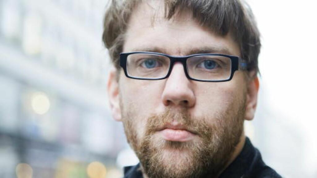 FRYKTER GATESLÅSSKAMP:  Forfatter og ekspert på høyreekstremistiske aktører, Øyvind Strømmen  frykter at venstre- og høyreradikale vil havne i slosskamp under demonstrasjonen i Aarhus. Foto: Berit Roald / Scanpix