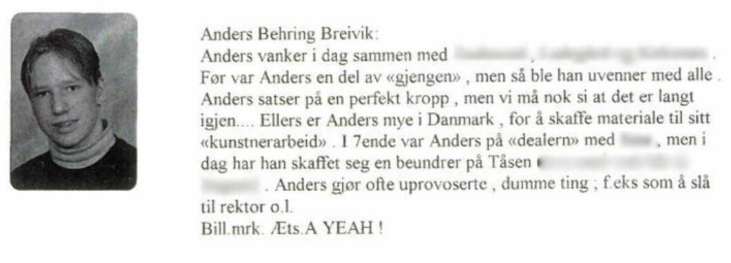 - Breivik planla tagging som militær operasjon