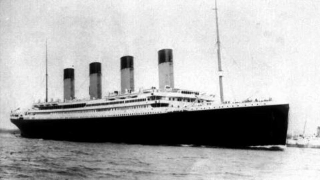 SKIPET SOM IKKE KUNNE SYNKE:  Dette bildet av Titanic ble tatt før skipet la ut på sin jomfrutur. 15. april er det 100 år siden skipet gikk ned etter å ha truffet et isfjell på vei over Atlanteren. Foto: (AP Photo/PA,Files)