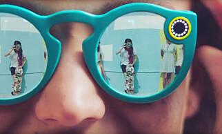 BRILLEFINT: Nå finnes det ingen grunn til ikke å filme minner, mener Snapchat. Foto: Youtube / Snapchat