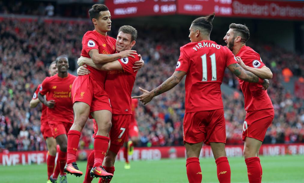 <strong>OVERLEGNE:</strong> Liverpool lekte med Hull. Foto: Scanpix