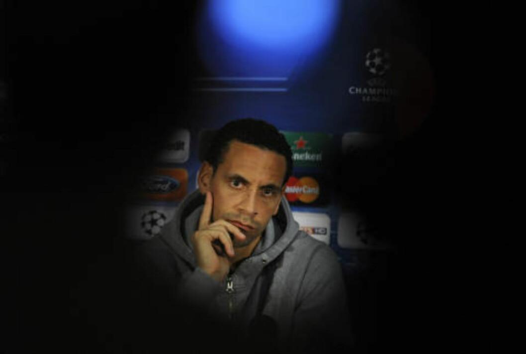<strong>REAGERER:</strong> Rio Ferdinand reagerer knallhardt på Sepp Blatters siste uttalelser. Foto: Scanpix