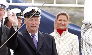 LEDER VED HOFFET: Kommunikasjonssjef på Slottet, Marianne Hagen (50), jobber tett med kongefamilien til daglig. Foto: Knut Falch / SCANPIX .