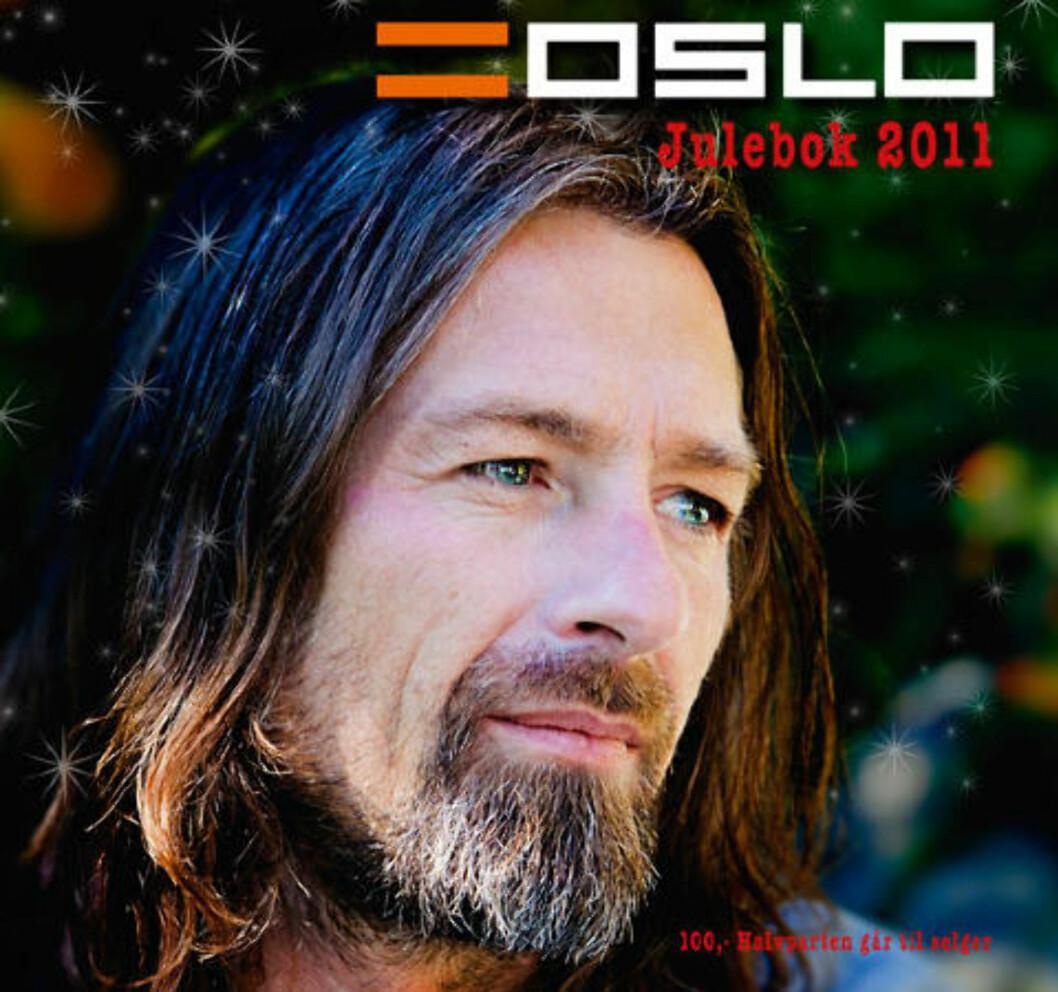 <strong>JULEBOK:</strong> Erik Mykland pryder forsiden av juleboka til =Oslo. Faksimile: =Oslo