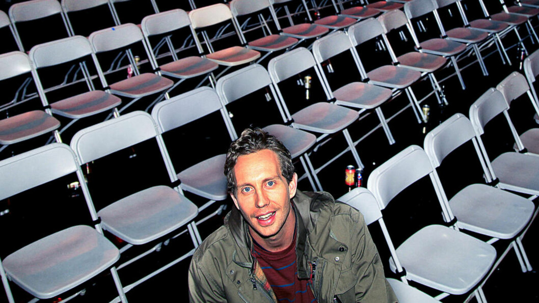 <strong>PROSJEKT SPEKTRUM:</strong> Morten Ramm slutter i «Torsdag kveld fra Nydalen», og vier all sin tid på å fylle hvert eneste sete i Oslo spektrum 24. mars, og dermed vinne veddemålet mot Thomas Giertsen. Litt drahjelp får han fra TV 2, med eget program til våren, der han tar med seerne inn i planleggingsprosessen. Foto: Jacques Hvistendahl