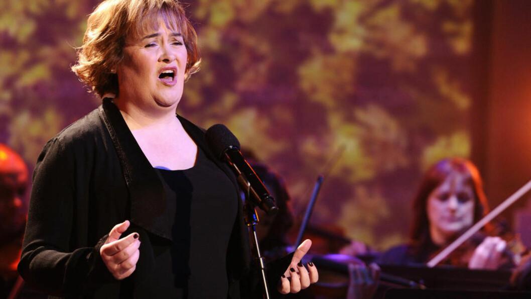 <strong>«SINGING SENSATION»:</strong> Susan Boyle på tv-showet «Today» tidligere denne måneden. Nå gir hun ut sitt tredje album på to år. Foto AP/NBC/Scanpix