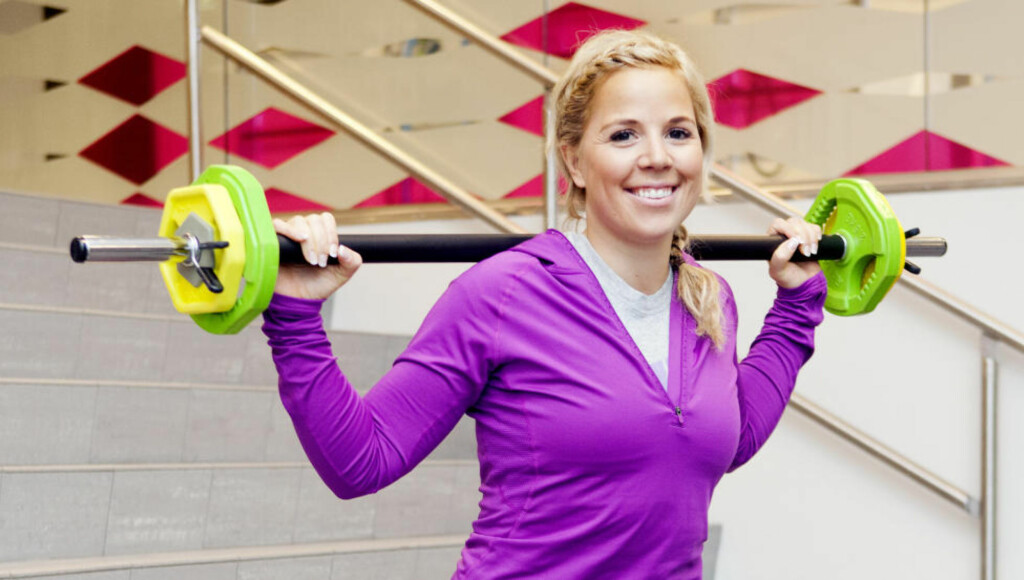 SKREDDERSYDD TRENING: Personlig trener Anne Marte Handal Sneve hjelper deg i gang. Alle foto: ELISABETH SPERRE ALNES