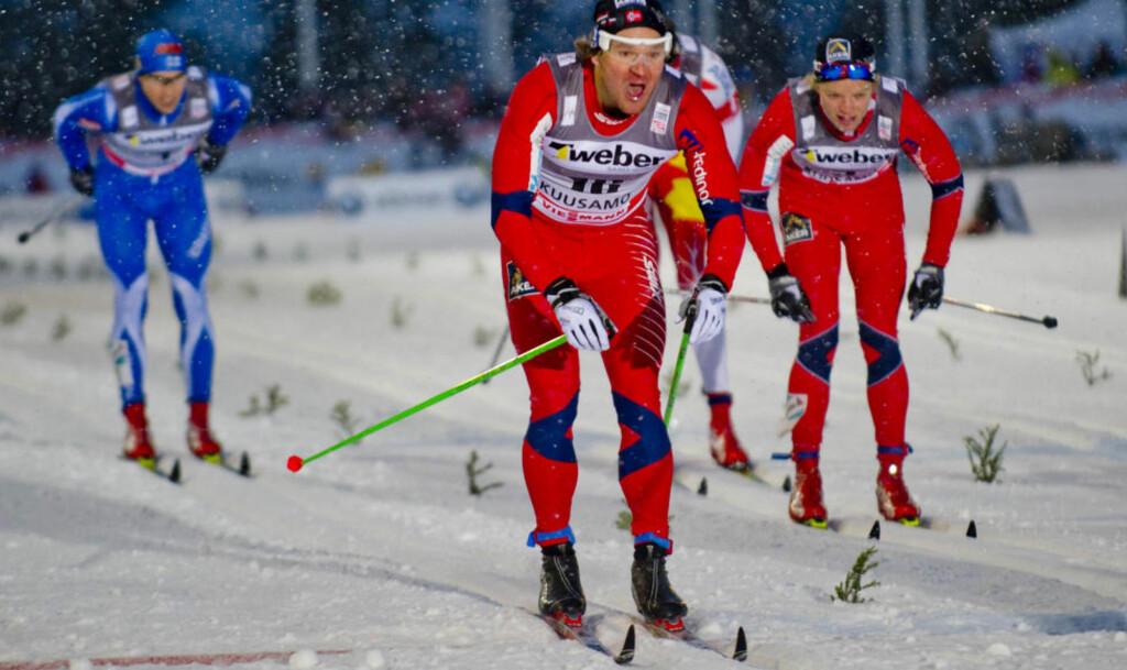 TILBAKE: 2010/2011-sesongen ble til slutt tung for Øystein Pettersen, men i dag var han tilbake på pallen i verdenscupen. Foto:  Rasmus Skaug / Dagbladet