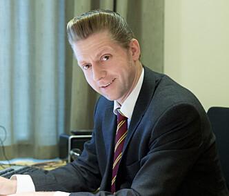 <strong>- SKAL GI STATEN INNTEKTER:</strong> Statssekretær Jørgen Næsje (FRP) i Finansdepartementet.