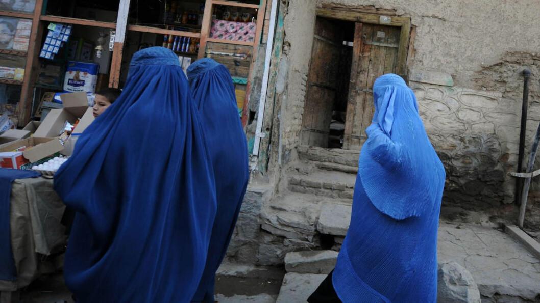 <strong>HUNDREVIS MORAL-FENGSLET:</strong> Hundrevis av afghanske kvinner sitter fengslet etter at de har blitt utsatt for voldtekt eller vold i hjemmet. Foto: AFP/Shah Marai/Scanpix