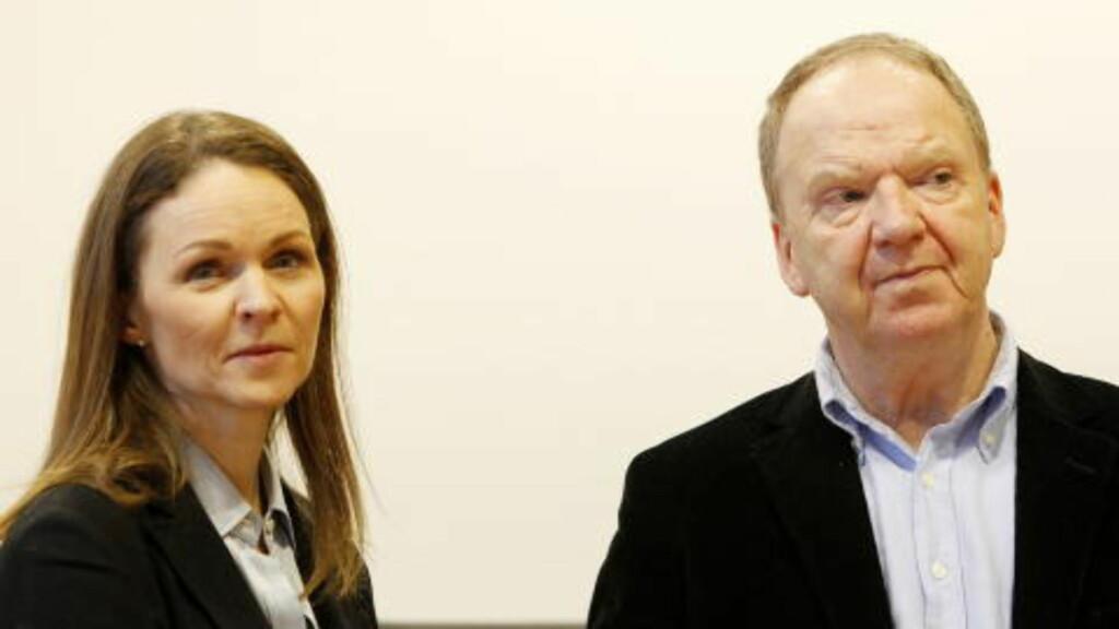 - MANGLER INNSIKT:  «Observanden har ingen sykdomsinnsikt», skriver de sakkyndige Synne Sørheim og Torgeir Husby. Foto: HÅKON MOSVOLD LARSEN/SCANPIX