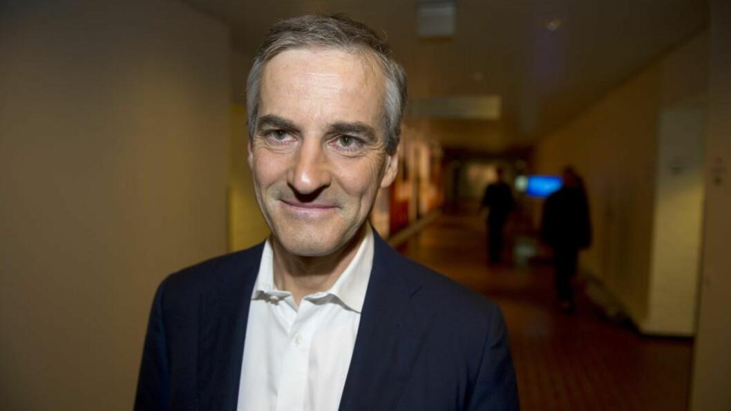 <strong>BLIR MED VIDERE?:</strong>Jonas Gahr Støre sier han vurderer å still til valg i 2013 - men det er familien og Oslo Ap som avgjør. Foto: Øistein Norum Monsen / DAGBLADET
