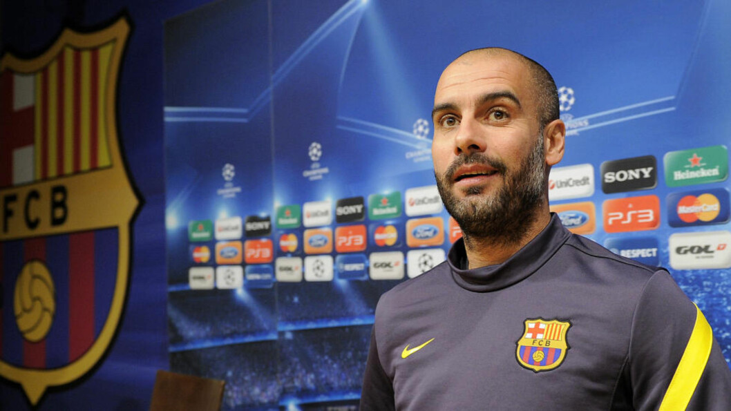 <strong>LEGENDE:</strong> Josep Guardiola har en merittliste uten sidestykke i Barceloa. Foto: AFP PHOTO/LLUIS GENE.