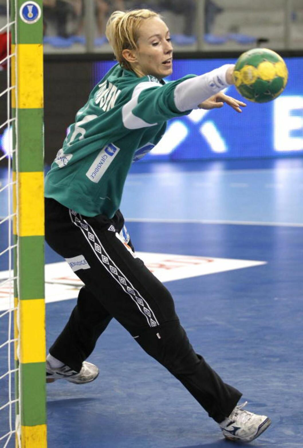 <strong>SKAL TETTE IGJEN:</strong> Bojana Popovic sier Norges keeper Katrine Lunde Haraldsen er verdens beste. Foto: Gorm Kallestad, Scanpix