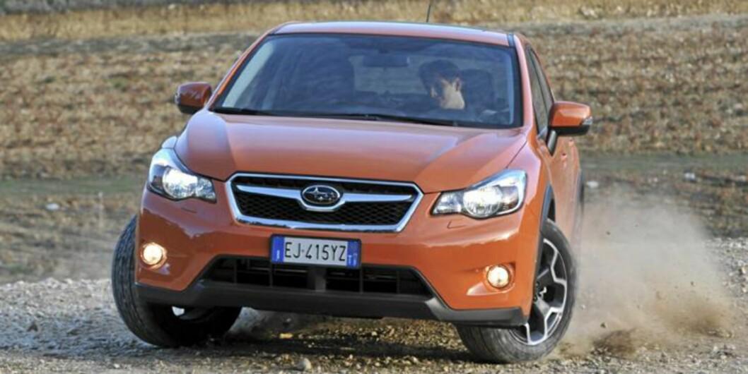 <strong>YPPER:</strong> Subaru XV blir nok en brysom konkurrent i klassen for kompakte SUV-er. Foto: URSULA NERGER