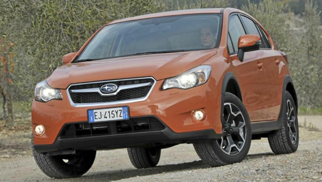 <strong>NORGESVENN:</strong> Høy bakkeklaring, 4x4 og bra pris: Subaru XV har alt svært mange norske bilkunder setter pris på. Foto: URSULA NERGER