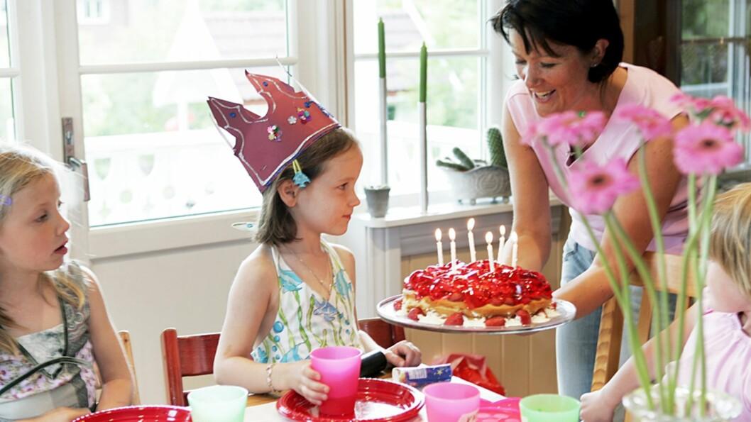 <b>BARNEBURSDAG PÅ BUDSJETT:</b> Jovisst skal barna få kose seg med bursdagsselskaper - men det trenger ikke koste skjorta! Foto: NTB Scanpix / Tor Richardsen