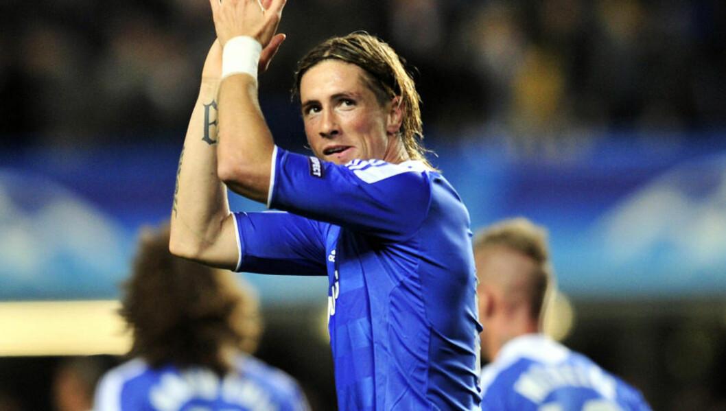 <strong>FLOPP:</strong> Fernando Torres kom til Chelsea som Premier Leagues dyreste spiller. Nå sliter han benken i londonklubben. Foto: AFP/GLYN KIRK