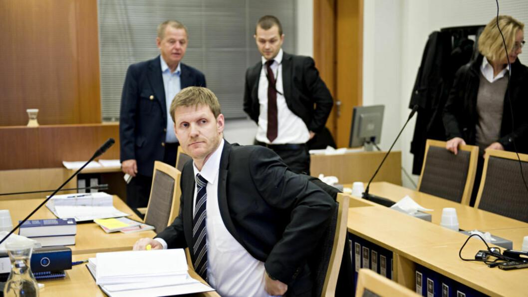 <strong> TOK MED SEG TERROR  :</strong> - Davud tok med seg global terror til Norge, uttalte aktor Espen Hanken i Oslo tingrett mandag. Foto: Benjamin A. Ward / Dagbladet