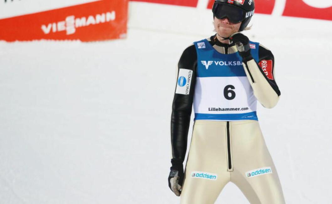 <strong>MOTGANG:</strong> Bjørn Einar Romøren ligger på en skuffende 40. plass i verdenscupen, og har slitt med å ta seg til finaleomganger så langt denne sesongen, men er likevel med til Hoppuka.Foto: Geir Olsen / Scanpix