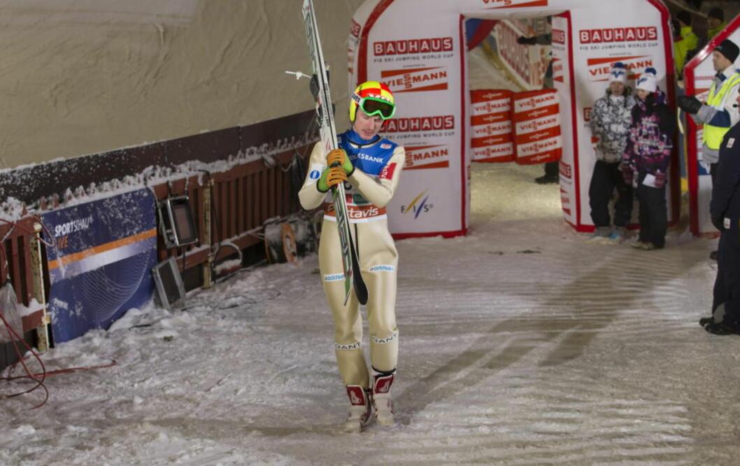 <strong>SLU REV:</strong> Johan Remen Evensen har ikke bevist noe som helst denne sesongen, men er likevel tatt ut i sjumannstroppen til Hoppuka. Nå lover han å levere når det gjelder.Foto: Terje Bendiksby / Scanpix