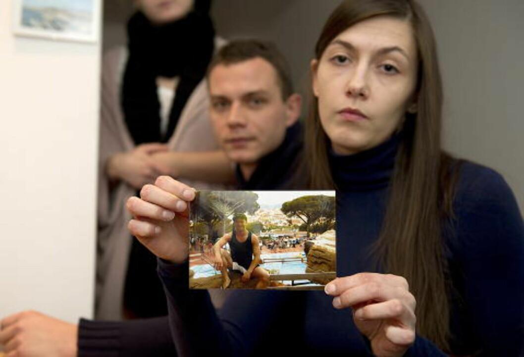 <strong>OPTIMISTISK:</strong>  Elzbieta Sienkievoiuz (29) var tidligere kjæresten og samboeren til Piotr og sier at han var en optimistisk person. Hun har ikke gitt opp håpet om å finne han i livet.Foto: Øistein Norum Monsen / Dagbladet