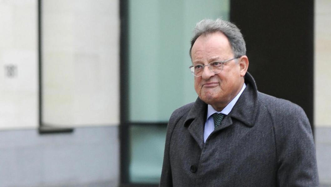 <strong>MED NY VERSJON:</strong> Den britiske advokaten David Mills har endret sin historie om angivelige penger fra Silvio Berlusconi. Foto: REUTERS/Paul Hackett/Scanpix