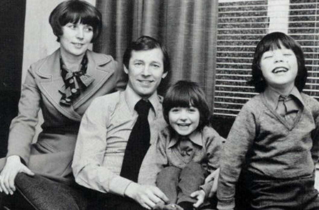 FAMILIEN: Alex Ferguson traff kona Cathy på dans i Glasgow. Sammen har de sønnene Jason og Darren.