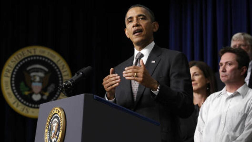 <strong> UTFORDRES:</strong>  Vinneren av den republikanse presidentvalgkampen skal utfordre Barak Obama i valgkampen i USA seinere i år.