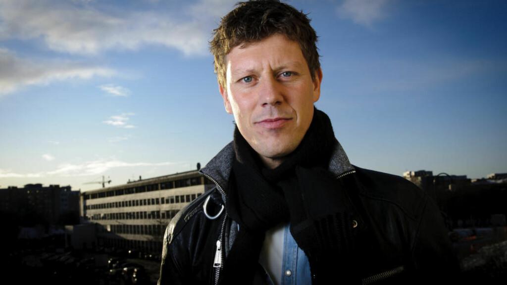 BER OM FRISKMELDING: Jan Fredrik Karlsen ber musikkdinosaurene som mener musikkbransjen er i krise om å holde kjeft. Foto: Sjur Stølen / Dagbladet