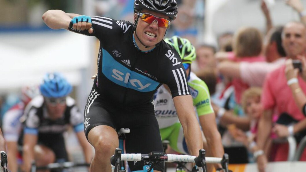 KAPTEIN: Edvald Boasson Hagen får en kapteinsrolle i Sky i Tour Down Under. Foto:  EPA/MALTECHRISTIANS