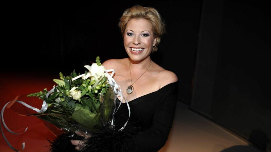 BYTTER JOBB: Anne-Kat. Hærland bytter kanal fra NRK til TVNorge, her fra en premiere på Latter i 2008. Foto: John T. Pedersen/Dagbladet