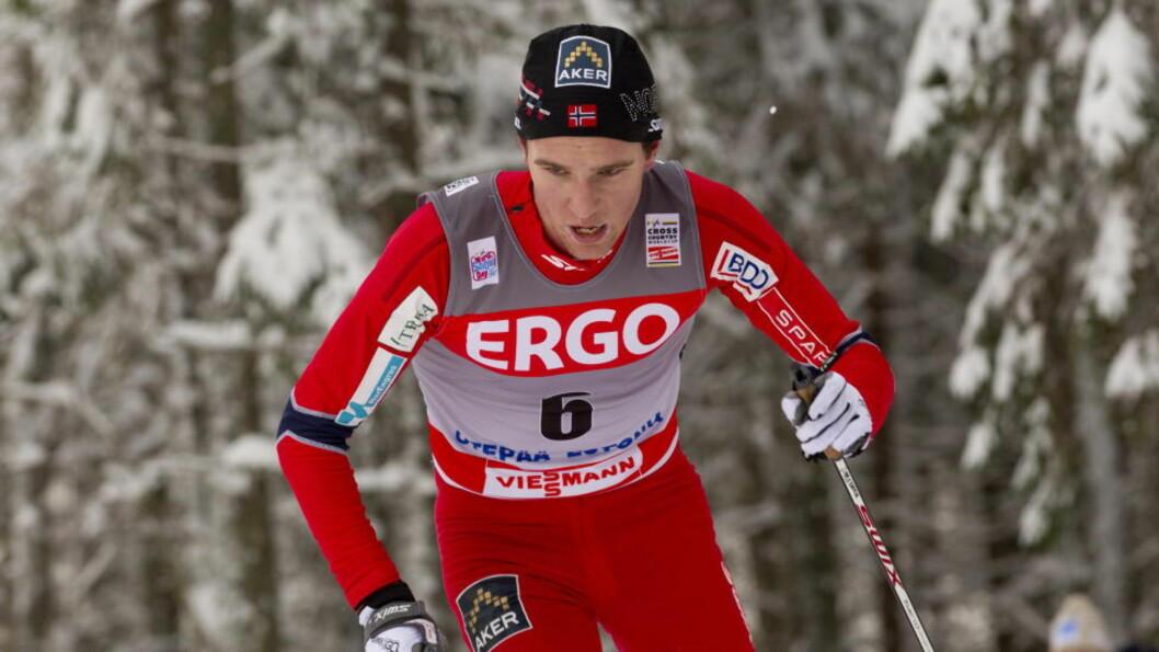 <strong>BESTE NORDMANN:</strong> Didrik Tønseth ble som debutant  beste norske med en 17. plass beste norske i en dårlig norsk dag i søndagens klassiske 15 kilometer i verdenscupen. Foto: Terje Bendiksby / Scanpix