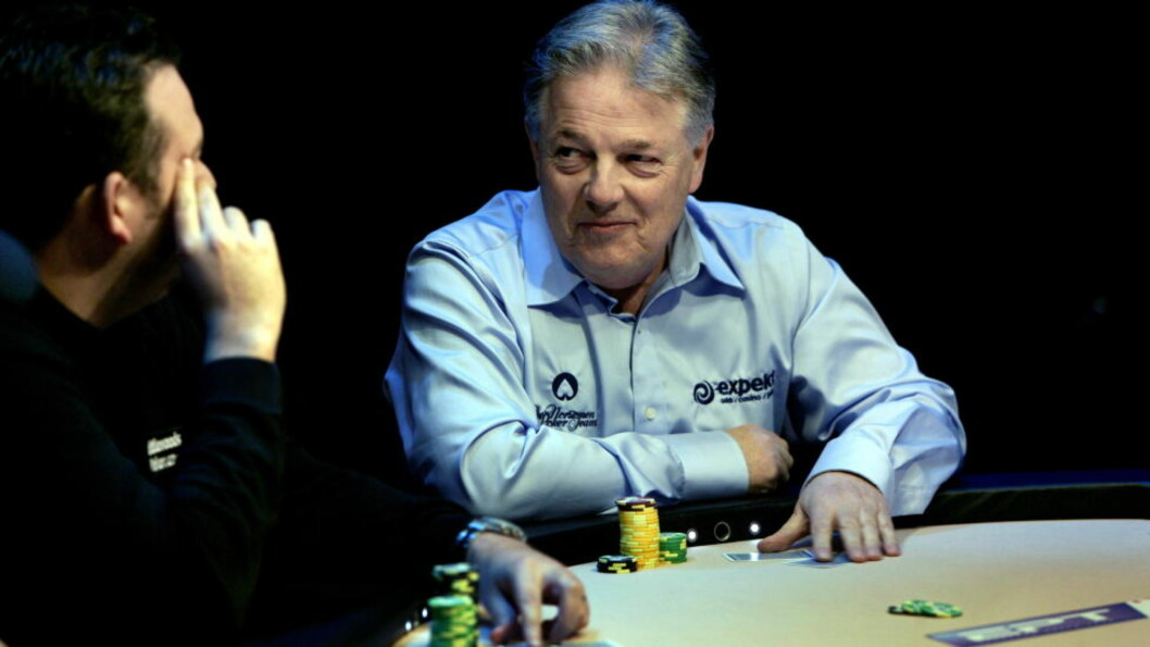 <strong>OPPTIL TO ÅR IGJEN Å LEVE:</strong> Thor Hansen har fått påvist uhelbredelig kreft. Legene mener at den profesjonelle pokerspilleren bare har to år igjen å leve. Foto: HENNING LILLEGÅRD/DAGBLADET.