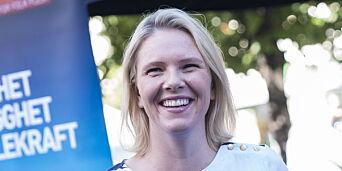 image: Sylvi Listhaug har begynt å blogge: - Forventer reaksjoner