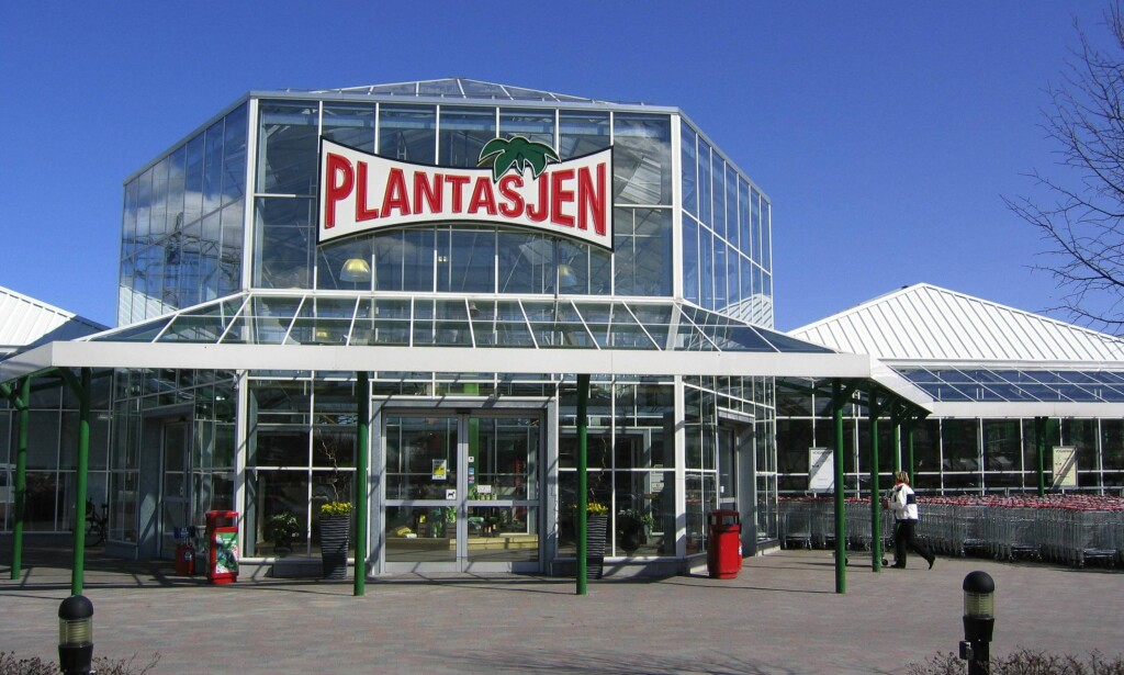 EN AV 124 BUTIKKER: Plantasjen i General Ruges vei i Oslo. Foto: Hilde Bjørhovde, Aftenposten.