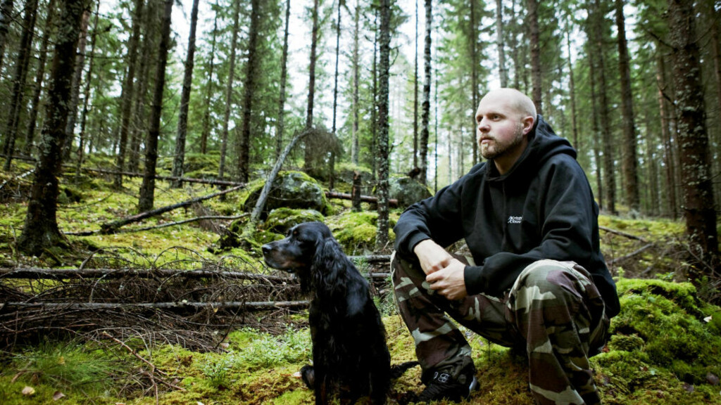 VILLMARKENS MANN? Kristoffer Clausen innrømmer overfor Dagbladet å ha bløffet norske TV-seere. Foto: Nina Hansen / Dagbladet