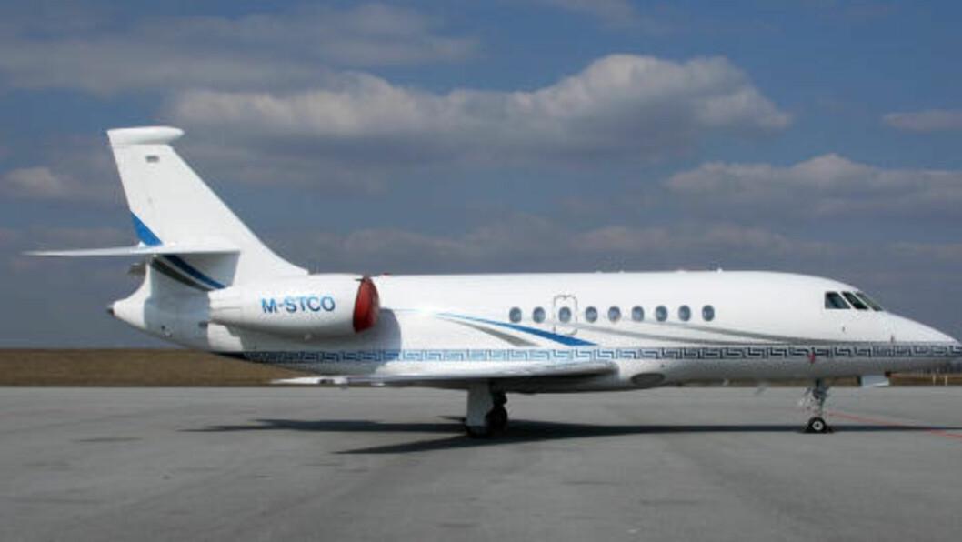 <strong>FLYKTET:</strong> Dette privatflyet brukte Farouk Abdulhak for å komme seg ut av Storbritannia. Foto: Privat