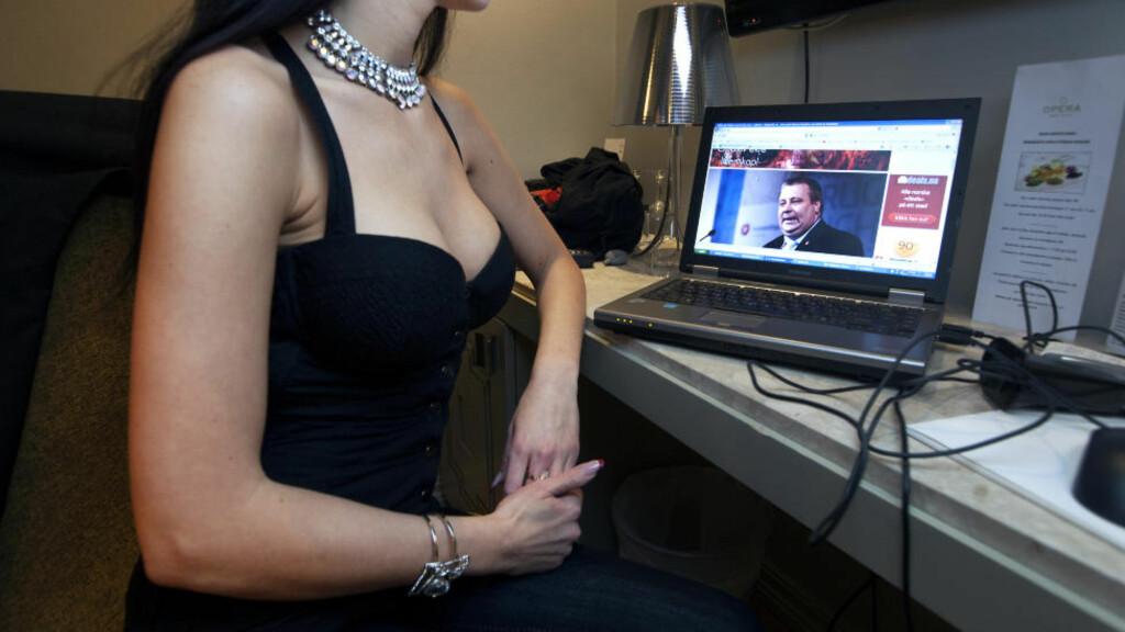 - HADDE IKKE SEX: Prostituerte «Nicole» benekter at hun hadde sex med Frp's Bård Hoksrud. Foto: HENNING LILLEGÅRD / DAGBLADET